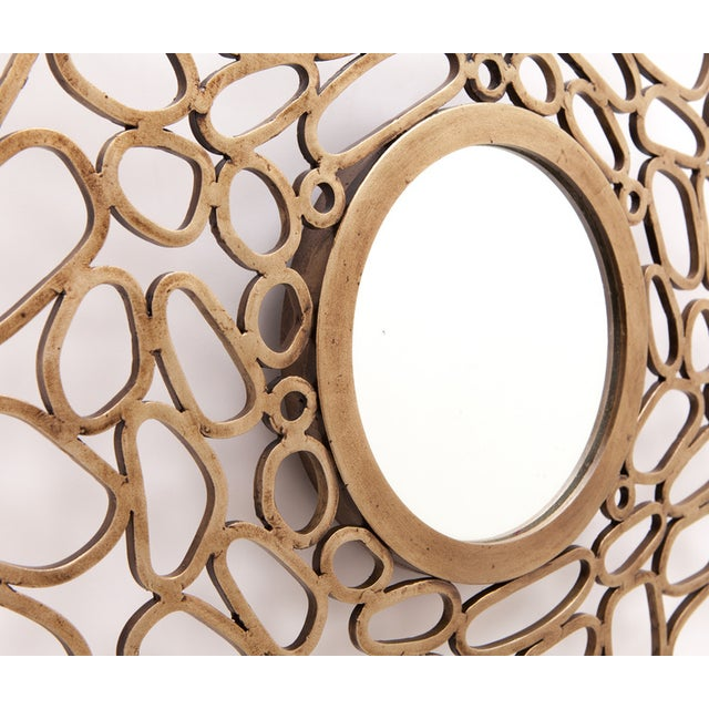 Made Goods Iron Freeform Vega Mirror - Image 2 of 3