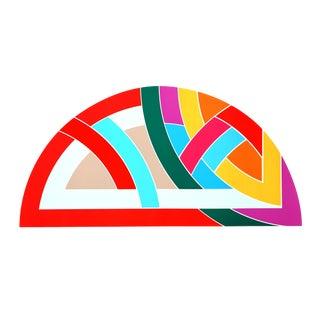 Modern Frank Stella Protractor Vi Silkscreen Poster