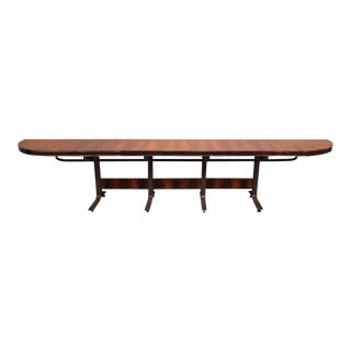 Rosewood & Steel Console