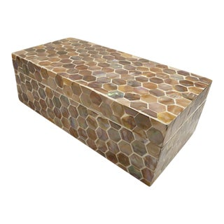 Mother of Pearl Storage Box