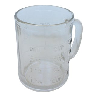 Vintage Hazel Atlas Measuring 1 Cup Clear Glass Measuring Cup