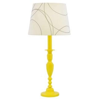 Sunshine Yellow Table Lamp in Luxury Auto Enamel