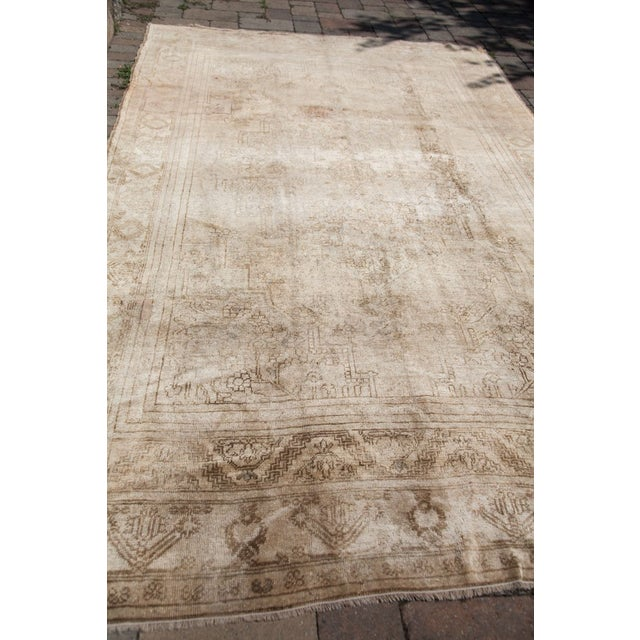 "Vintage Oushak Carpet - 6'10"" x 11'2"" - Image 3 of 6"