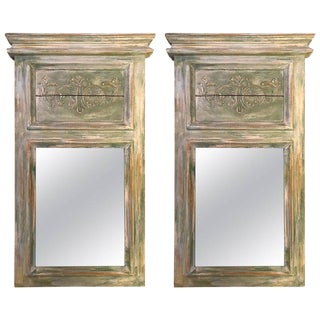 Swedish Wall or Console Mirrors - A Pair