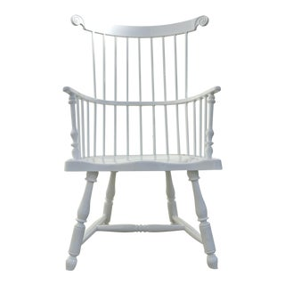 Windsor White Aluminum Dining Chair