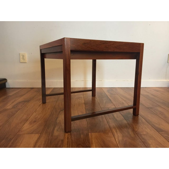 Brode Blindheim Rosewood End Table - Image 6 of 9