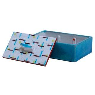 1920s German Art Ceramic Lidded Box