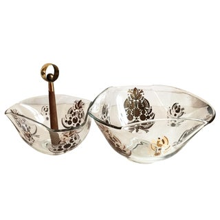 Georges Briard Serving Bowls - A Pair