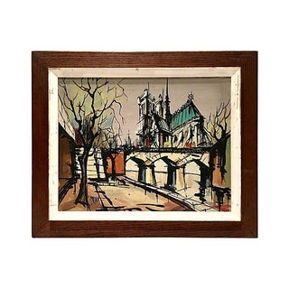 """Oil Painting """"Notre Dame"""" by Cerdun"""
