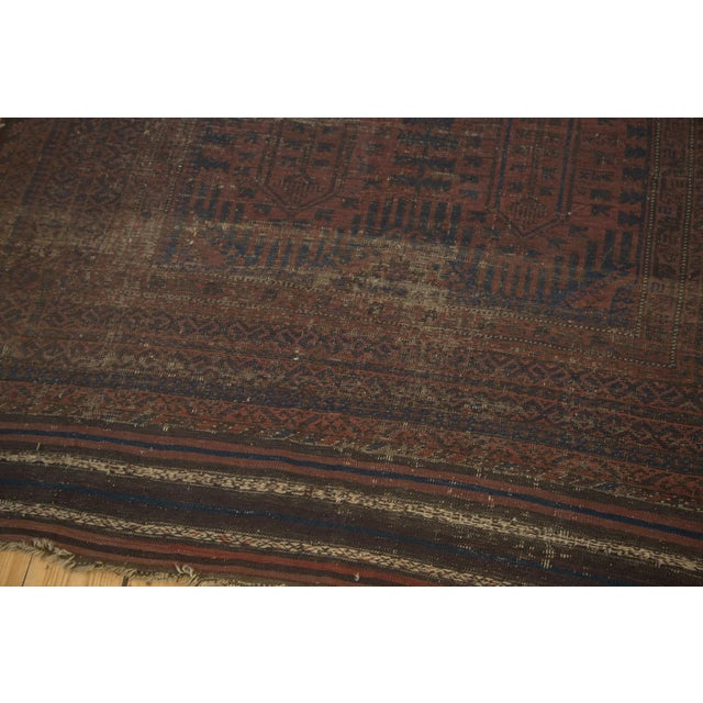 "Vintage Belouch Carpet - 4'8"" x 8'3"" - Image 3 of 9"