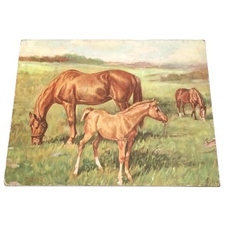 Ole Larsen Horse Illustration