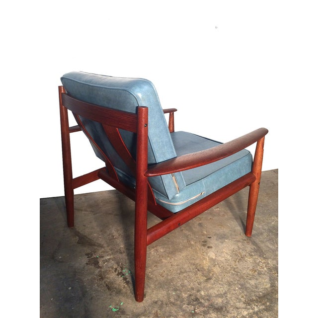 Image of Grete Jalk Lounge Chair and Ottoman Set