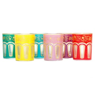 Moroccan Inspired Shot Glasses - Set of 6