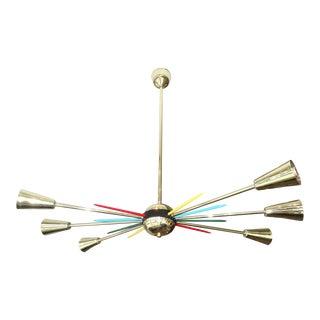Mid-Century Italia Sputnik Chandelier