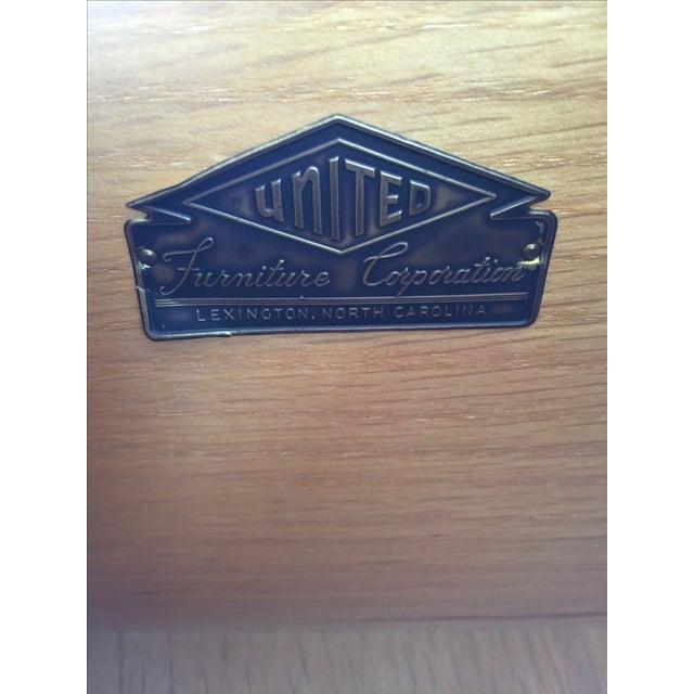 1950s Birdseye Maple Tallboy Dresser - Image 7 of 9