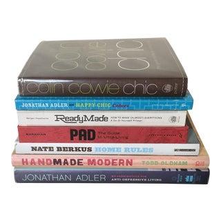 Mid-Century Decor Books - Set of 7