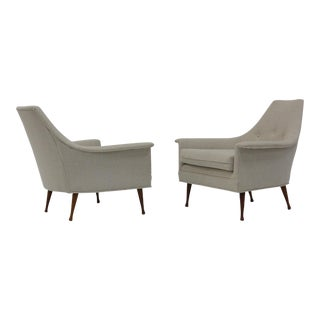 Pair of Lounge Chairs by Ben Seibel