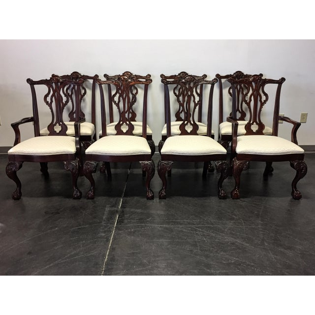 Thomasville Mahogany Collection Chippendale Dining Chairs