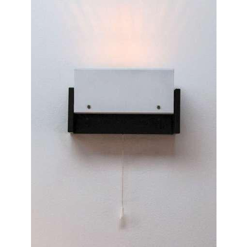 French Enamel Wall Lights : Pair of French White on Black Enamel Bedside Wall Lamps Chairish