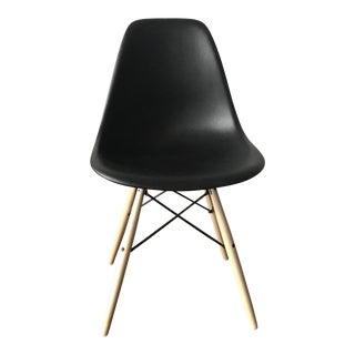 Eames Molded Plastic Dowel-Leg Side Chair