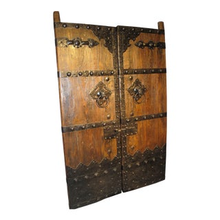 Chinese Antique Doors - A Pair
