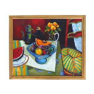 Abstract Still-Life in Oil