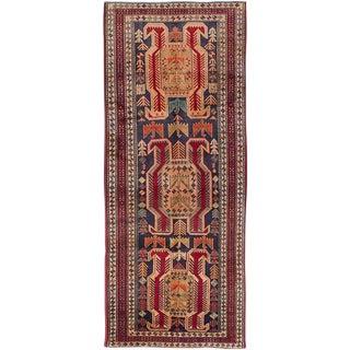 "Vintage Persian Ardabil Rug- 3'8"" x 9'2"""