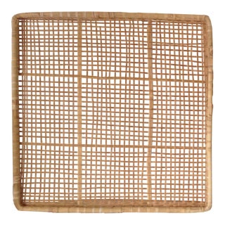 Vintage Tobacco Drying Basket Wall Hanging