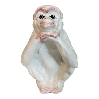 Italian Monkey Figurine