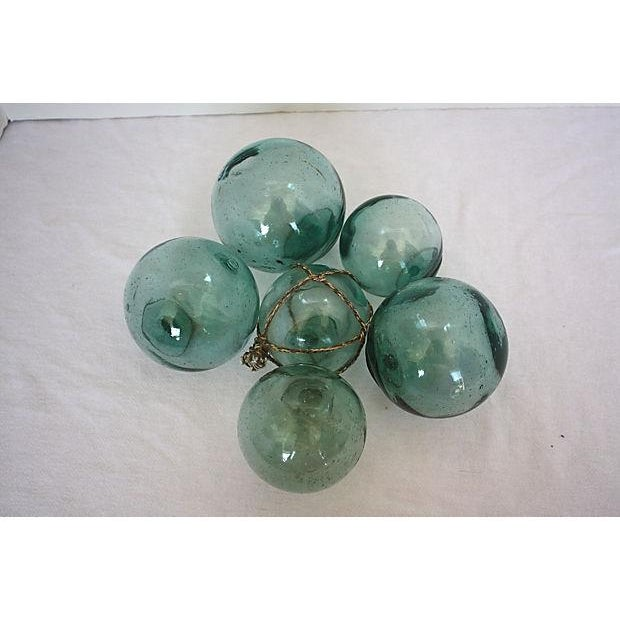 Vintage Japanese Glass Fishing Floats - Set of 6 - Image 2 of 4