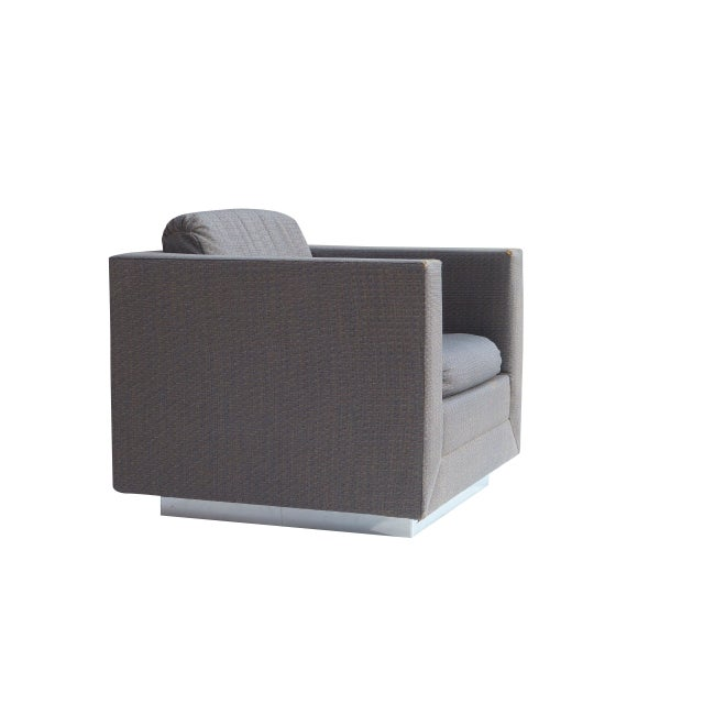 Stow & Davis Cube Club Chairs - A Pair - Image 4 of 8
