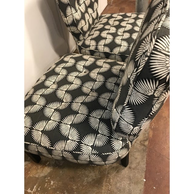 Vintage Mid-Century Slipper Chairs - A Pair - Image 4 of 9