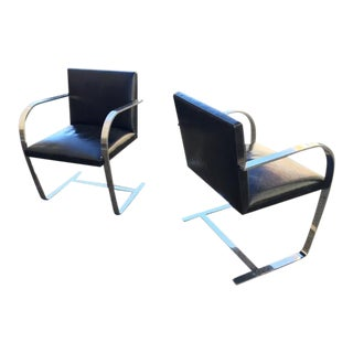 Vintage Knoll Brno Chairs by Van Der Rohe - Pair