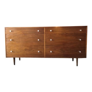 Milo Baughman For Glenn of California Mid Century Walnut Dresser