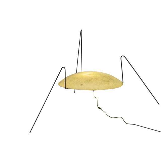 Yellow Modernist 'Spider' Lamp - Image 4 of 4