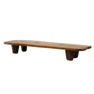 Low Wood Display Table