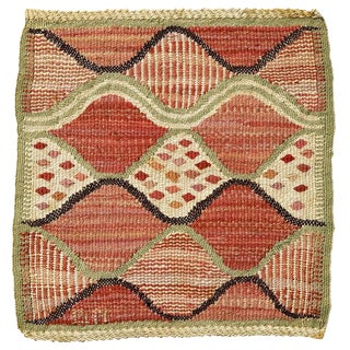Small Barbro Nilsson Flat-Weave Weaving