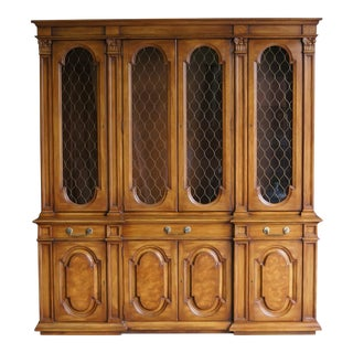 Karges Breakfront China Cabinet