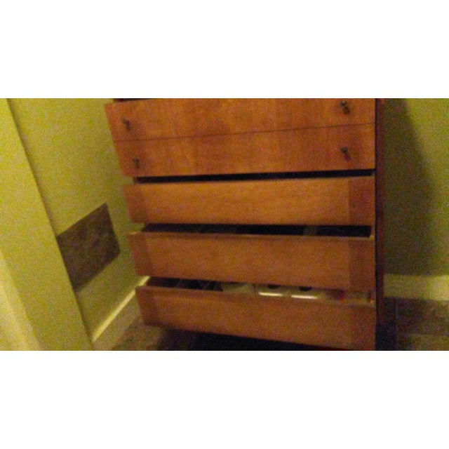 Mid-Century Modern Wooden Dresser - Image 3 of 5
