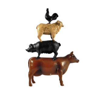Farm Animal Stack Statue