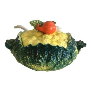 Vintage Cabbage Soup Tureen