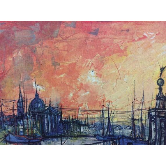 Bouvier De Cachard Reproduction Venice at Sunset - Image 3 of 6