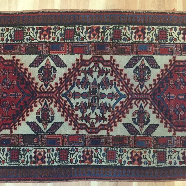 "Vintage Persian Sarab Runner Rug - 2'9"" x 10'7"" - Image 6 of 6"