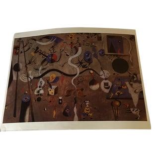 """Joan Miri """"Carnival of Harlequin"""" Print"""