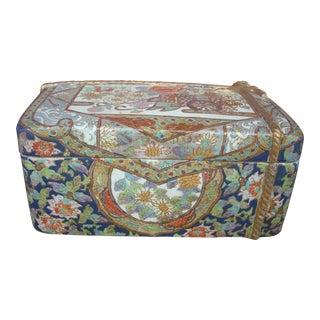 Chinese Flower Cart Box