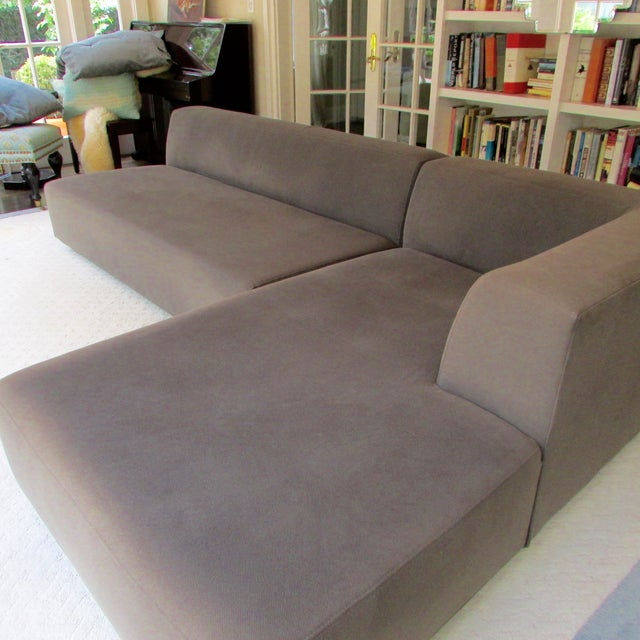 West Elm Sectional Chairish