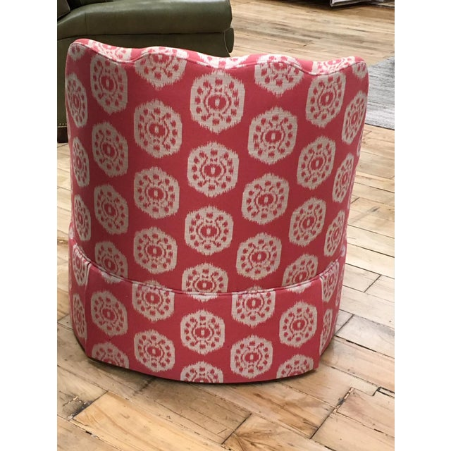 Thibaut Brentwood Swivel Chair Showroom Sample - Image 3 of 6