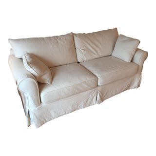 Jennifer Furniture White Sofa