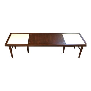 American of Martinsville Coffee Table With Inlay