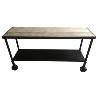 HD Buttercup Rustic Console Table